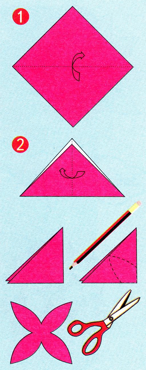 Как сделать снежинку из бумаги и из ножниц