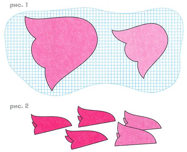 Шаблоны тюльпанов из бумаги своими руками - Extride.ru