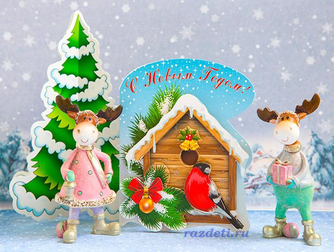Снегирь своими руками на новый год