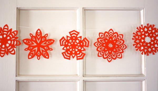 Новогодние украшения для дома из бумаги своими руками