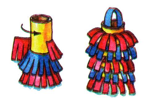 Новогодние поделки фонарики своими руками
