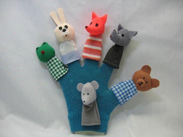 Куклы перчаточного театра своими руками