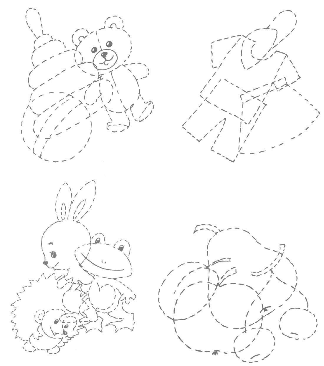Раскраска про детский сад