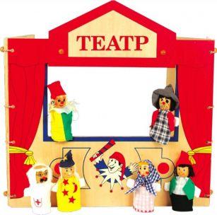 Создать кукольный театр для ребёнка