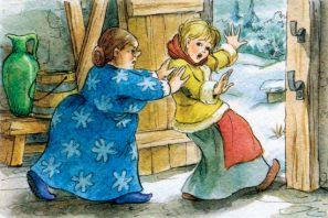 Сказка о снежинках читать