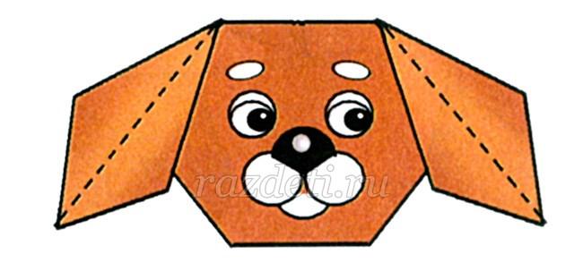 Оригами из бумаги Оригами для детей Схемы оригами