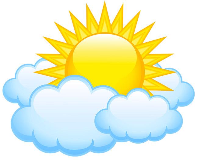 картинка облачко с солнышком на прозрачном фоне гай осматривал картины