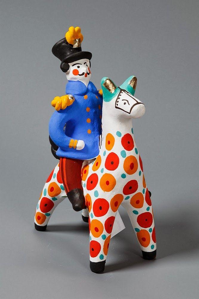 дымковская игрушка гифка возможно полюбить
