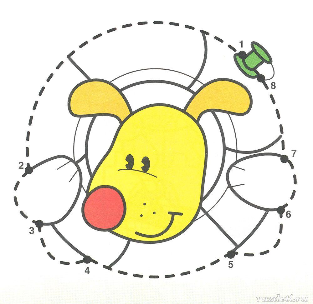 Раскраска для детей 4-5 лет. Соедини по цифрам распечатать