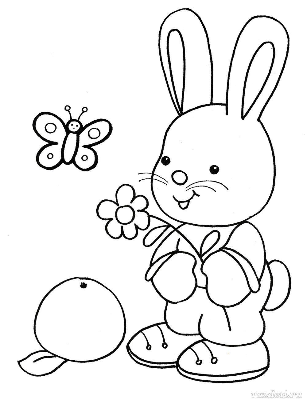 Познавательные раскраски для детей 3-4-5 лет распечатать ...