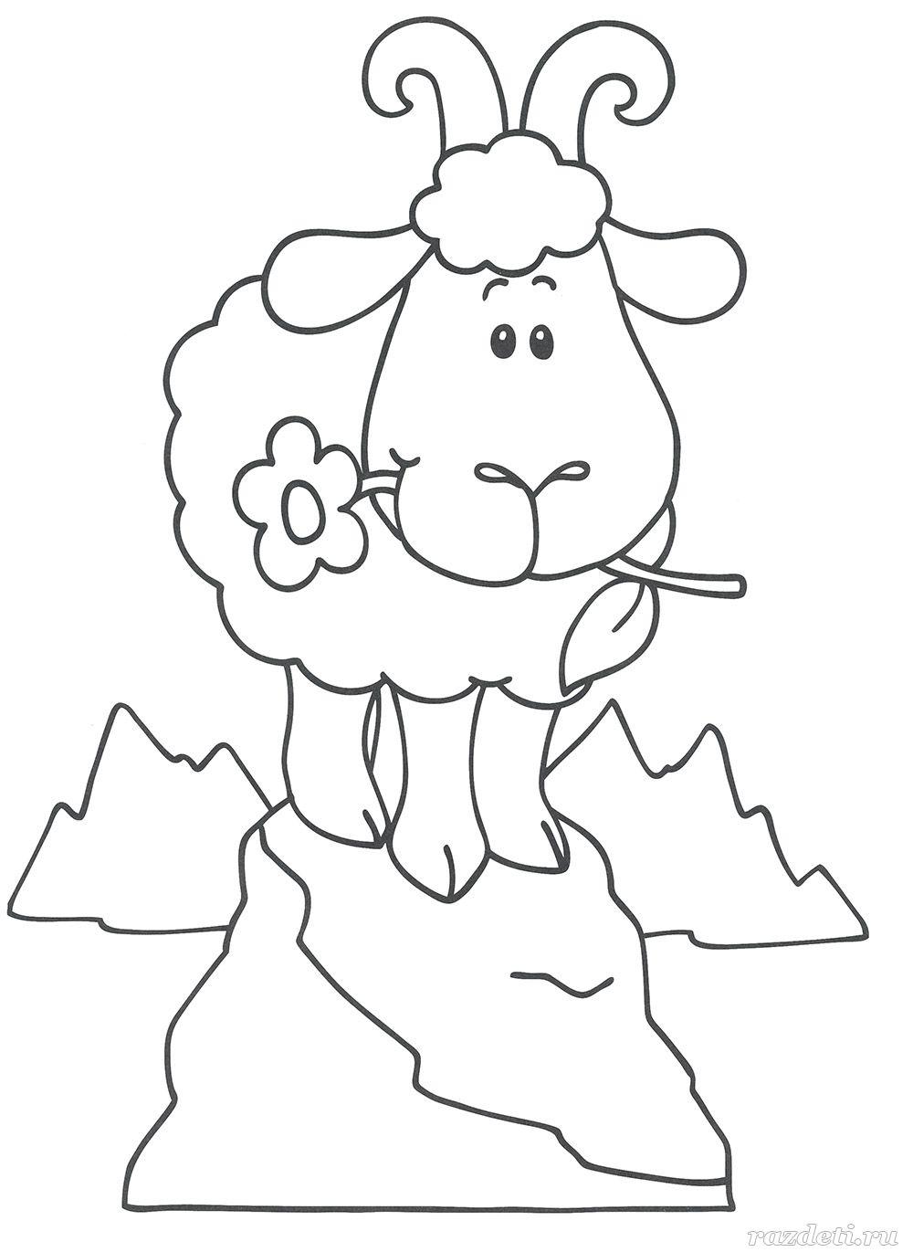 Детские раскраски для детей 3-4-5 лет распечатать бесплатно