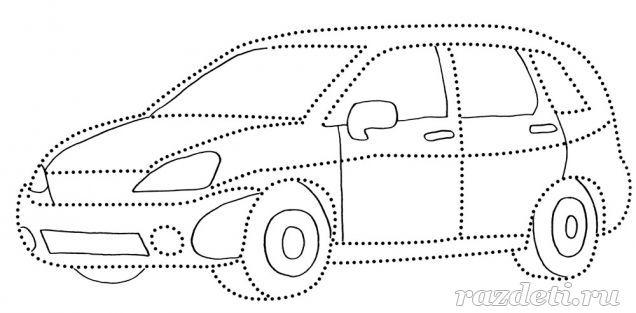 Раскраски для детей. Автомобили